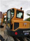 Hyundai Robex 80 CR-9, 2018, Crawler excavators