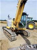 New Holland E 80 M SR, 2012, Pelle sur chenilles
