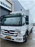 Mercedes-Benz Atego 1224 L, 2014, Box body trucks