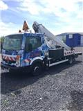 Multitel 160 ALU, 2008, Truck mounted aerial platforms
