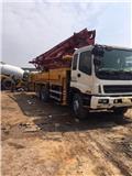 Isuzu 37M, 2010, Concrete pump trucks