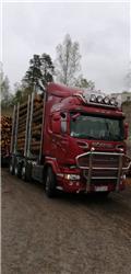 Scania R 730, 2015, Log trucks
