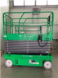 KB-Lift S-140W, NEW 14m electric scissor lift, warranty, 2019, Radne platforme na makaze
