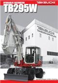 Takeuchi TB295W, 2018, Wheeled excavators