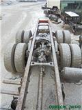 Scania R735 - ślizg - podstawa resora łapa  6x4,, Osie