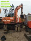 Hitachi EX 100 W D, 2009, Wheeled excavators