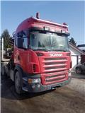 スカニア R 560、2008、木材トラック