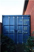 Container 40 fods, Storage containers