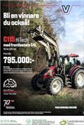 Valtra G115 Hitech+Lastare Kampanj!!, 2021, Traktorok