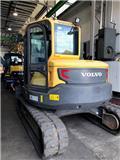 Volvo ECR 88 D, 2014, Crawler Excavators