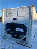 Carrier 20fots Kyl frys värme container, 2010, Refrigerated containers
