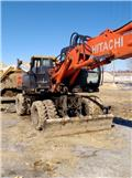 Hitachi ZX 160 W, 2012, Wheeled excavators