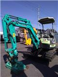 Yanmar Vio 27、小型挖土機(掘鑿機,挖掘機)<7t(小型diggers)