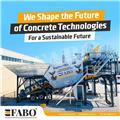 Fabo READY IN STOCK MOBILE CONCRETE PLANT 60 M3/H, 2020, Betono gamybos agregatai