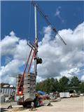 Dalbe HF 162, 2006, Self erecting cranes