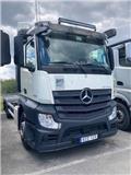 Mercedes-Benz Actros 2545, 2018, Camiones portacontenedores