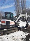 Bobcat E 45, 2011, Mini excavators < 7t (Mini diggers)