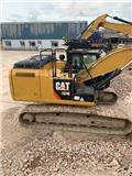 Caterpillar 324 E, 2014, Crawler excavators
