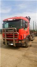 Scania 144L530, 1997, Log trucks