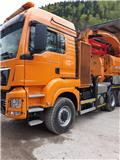 Jenz MAN 33 480 6x6, 2015, Wood chippers