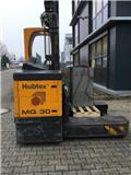 Hubtex MQ 30, 2001, 4-way reach trucks