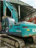 Kobelco SK 200-8, Escavatori cingolati
