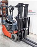 Toyota 8 FB ET 15, 2009, Electric Forklifts