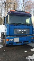 MAN 26.414, 2000, 새시 운전실 트럭