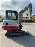 Takeuchi TB230, 2017, Mini excavators < 7t (Mini diggers)