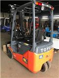 Toyota 8 FB EKT 18, 2017, Electric Forklifts