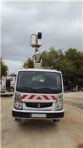 Isoli vt48ne 16,5 mts Renault maxity boom lift truck (So, 2009, Camion nacelle