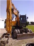 Hyundai HL 17, 2008, Wheeled Excavators