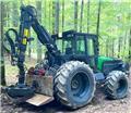 John Deere 6820, 2006, Harvesters