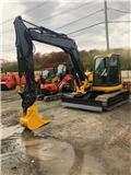 John Deere 85 D, 2012, Mini excavators  7t - 12t