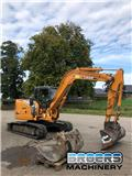 Case CX 80, 2008, Midi excavators  7t - 12t
