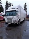 Scania P 124 LB, 2001, Camiones con temperatura controlada