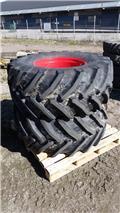 Trelleborg TM800, 2016, Däck, hjul och fälgar