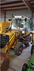 JCB 3DX 4W, Čelni nakladalci in kopači