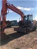 Hitachi ZX 140 W-3, 2013, Wheeled excavators