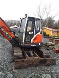 Kubota KX 161-3, 2004, Minigravere <7t