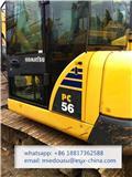 Komatsu PC56-7, 2014, Mini excavators < 7t (Mini diggers)