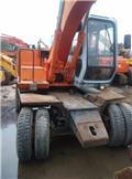 Hitachi EX 100 W D, 2012, Wheeled excavators