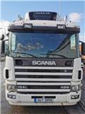 Scania P 124 LB, 2004, Reefer Trucks