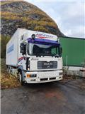MAN F2000, 2000, Van Body Trucks