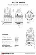 John Deere Rotator BALTROTORS HR10SM F054275, 2017, Rotator