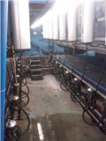 Delaval 2x8 Solidex, 2004, Milking equipment