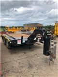 MAC COMMERCIAL 2-AXLE SWAN NECK SKIP TRAILER, 2015, Skipplaadur-haagised