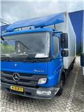 Mercedes-Benz Atego 1218 L، 2013، شاحنات ذات هيكل صندوقي