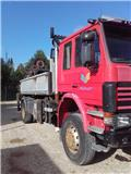Scania P 93, 1991, Box trucks