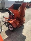 Honda GX 620 woodchipper, 2010, Wood Chippers